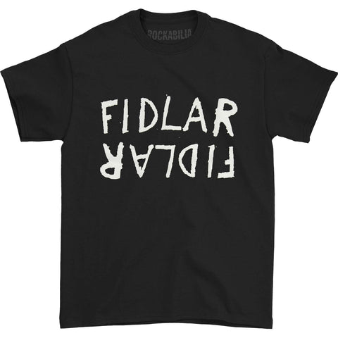Fidlar Men's  Flipped Logo T-shirt Black
