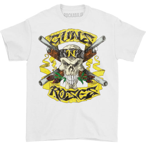 Guns N Roses Men's  Shotgun T-shirt White