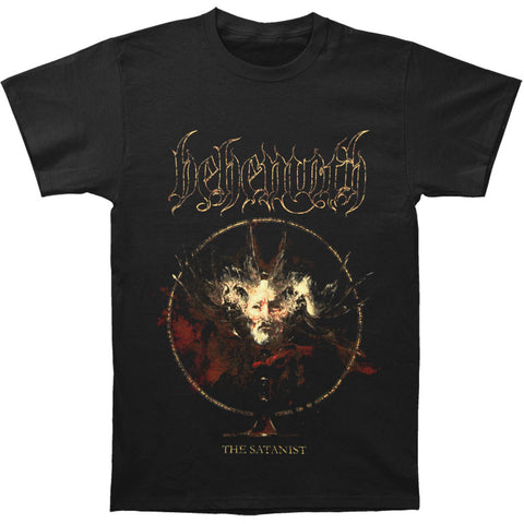 Behemoth Men's  The Satanist Cover T-shirt Black