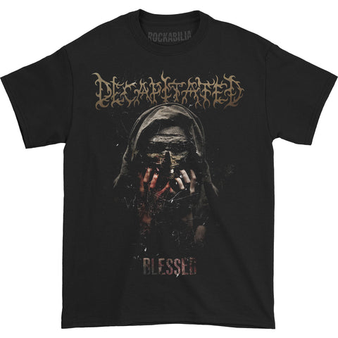 Decapitated Men's  Blessed T-shirt Black Rockabilia
