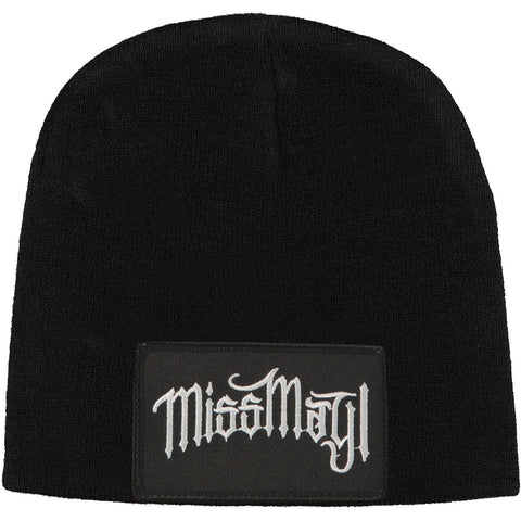 Miss May I Men's Patch Beanie Black