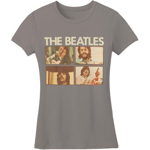 Beatles  12 Junior Top Grey