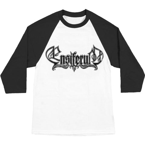 Ensiferum Men's  Logo Baseball Jersey White