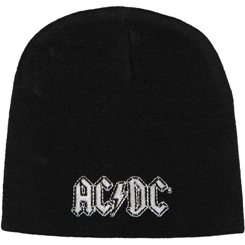 AC/DC Men's Logo Beanie Black