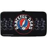Grateful Dead Women's Steal Your Face Logo Dancing Skeletons Girls Wallet