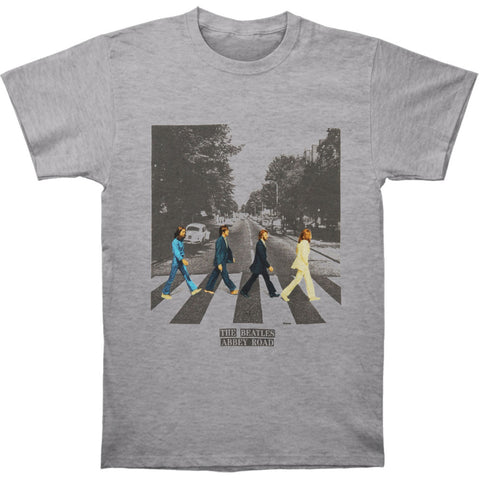 Beatles Men's  Abbey Road Youth T-shirt Heather