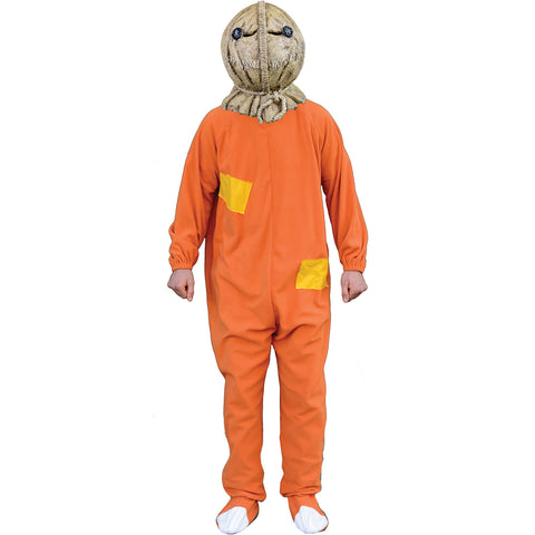 Trick 'r Treat Men's  Sam Costume Costume Orange