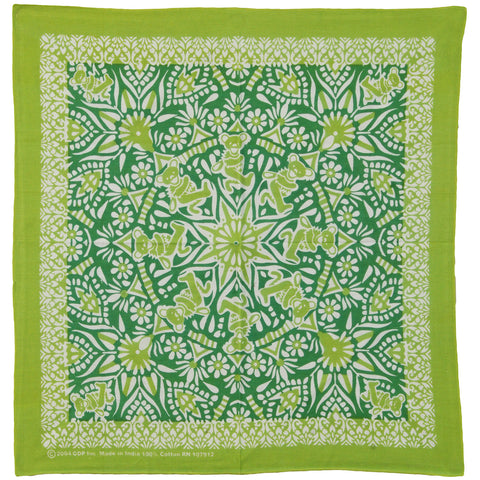 Grateful Dead Bandana Green