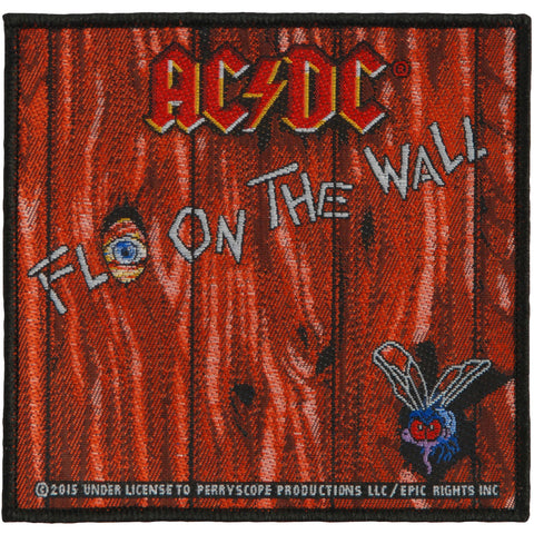 AC/DC Men's Fly On The Wall Woven Patch Brown