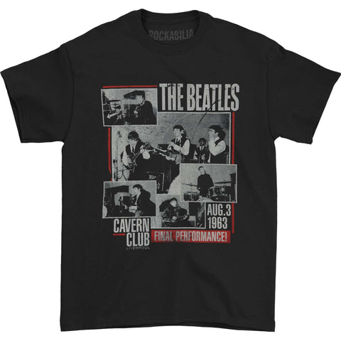Beatles Men's  Final Performance T-shirt Black Rockabilia