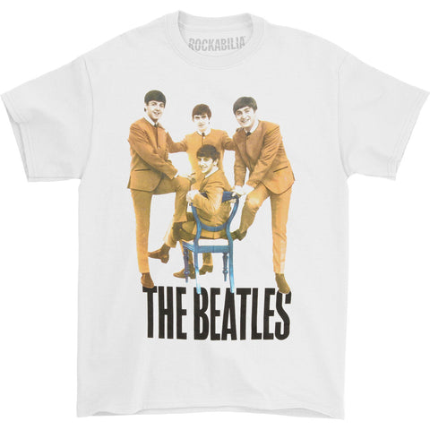 Beatles Men's  Chair T-shirt White
