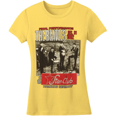 Beatles  Star Club, Hamburg Junior Top Yellow