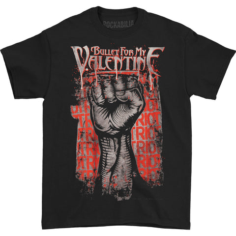 Bullet For My Valentine Men's  Riot T-shirt Black