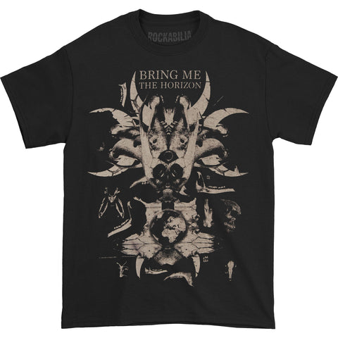Bring Me The Horizon Men's  Skull & Bones T-shirt Black