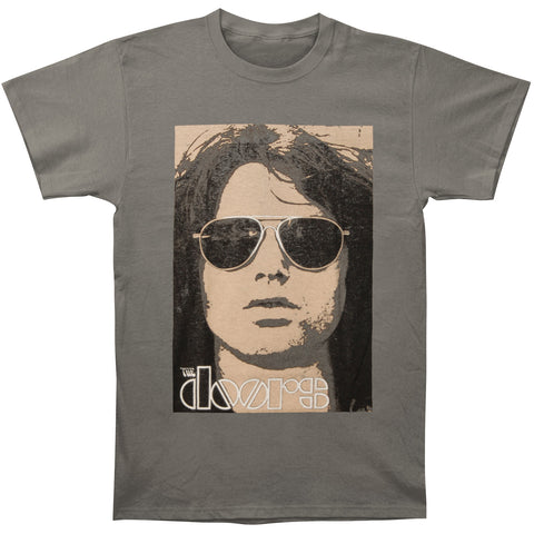 Doors Men's  Jim Face T-shirt Grey
