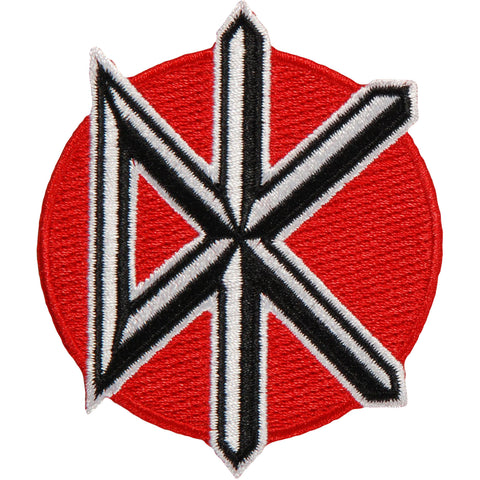 Dead Kennedys Men's Icon Embroidered Patch Red
