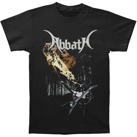 Abbath Men's  Fire Breathing T-shirt Black