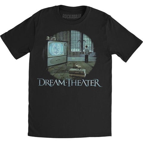 Dream Theater Men's  Television Mens T Slim Fit T-shirt Black