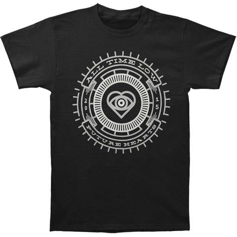 All Time Low Men's  Retina Slim Fit T-shirt Black