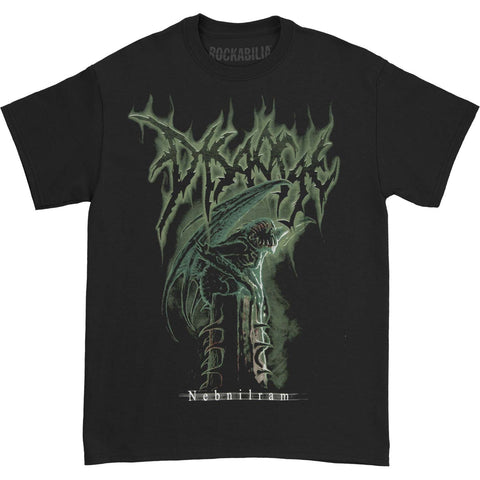 Disgorge Men's  Nebnilram T-shirt Black