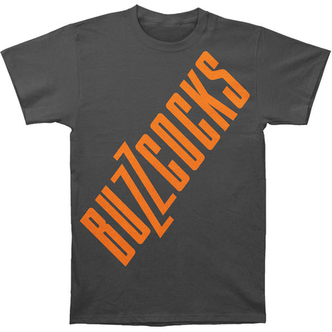 Buzzcocks Men's  Buzzcocks Slim Fit T-shirt Charcoal