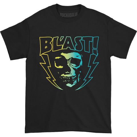 Bl'ast! Men's  Gradient Skull T-shirt Black