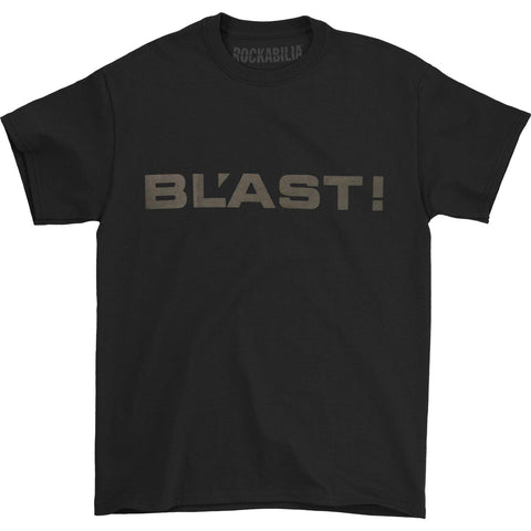 Bl'ast! Men's  Logo T-shirt Black