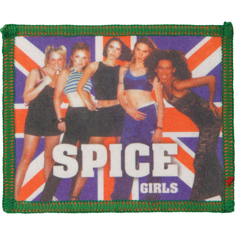 Spice Girls Men's Group Pic 3 Photo Patch Green