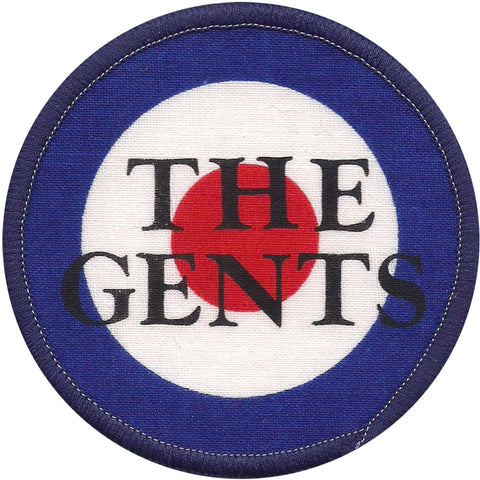 Gents Men's Round 1 Screen Printed Patch Blue