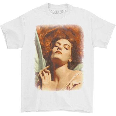 Florence + The Machine Men's  Photo Portrait 2012 Tour T-shirt White