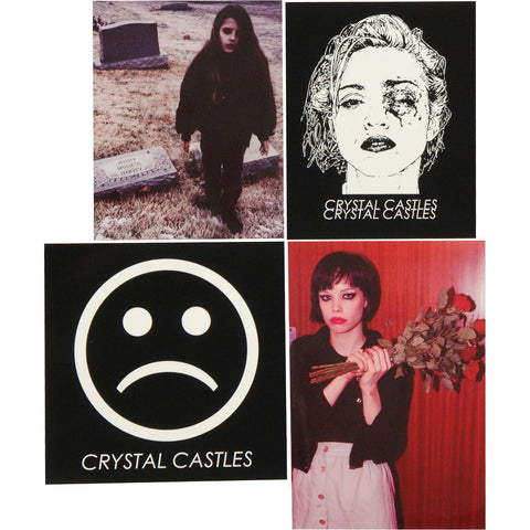 Crystal Castles Sticker Set