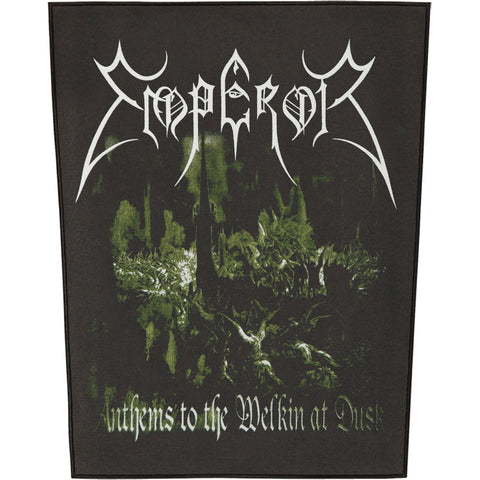 Emperor Men's Anthems To The Welkin Back Patch Black