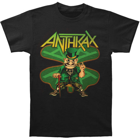 Anthrax Men's  St. Patty's Day 2016 Anthrax Style T-shirt Black