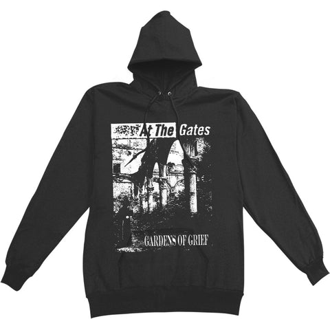 At The Gates Men's  Gardens Of Grief Hooded Sweatshirt Black