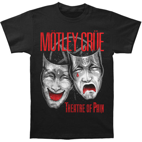Motley Crue Men's  Theatre Of Pain Cry T-shirt Black