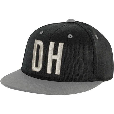 Dirty Heads Men's  Fat Baseball Cap Black