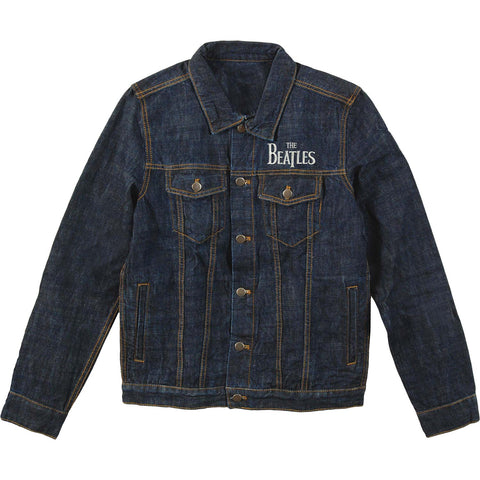 Beatles Men's  1s Denim Jacket Denim Jacket Denim