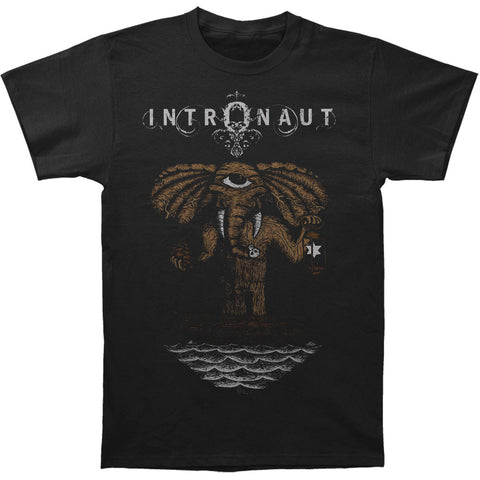 Intronaut Men's  Elephant T-shirt Black