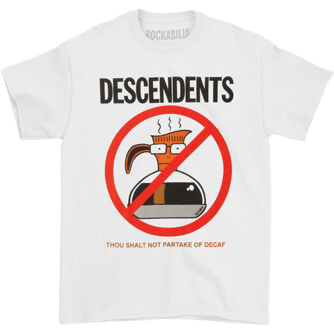 Descendents Men's  Thou Shall Not T-shirt White
