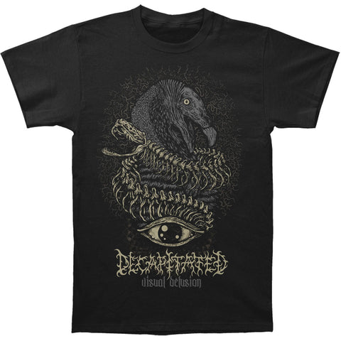 Decapitated Men's  Visual Delusion T-shirt Black