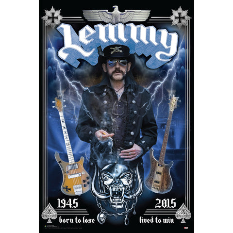 Motorhead Domestic Poster