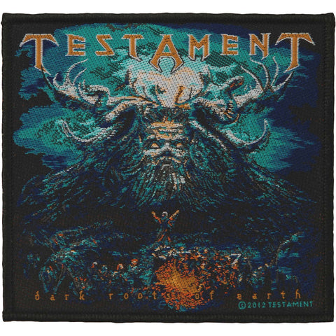 Testament Men's Dark Root Of The Earth Woven Patch Multi