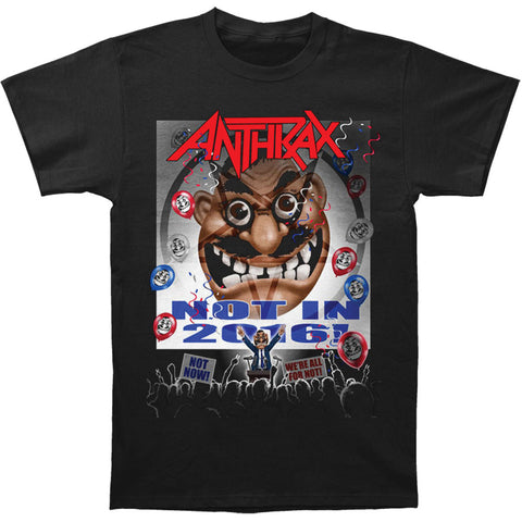 Anthrax Men's  Election T-shirt Black