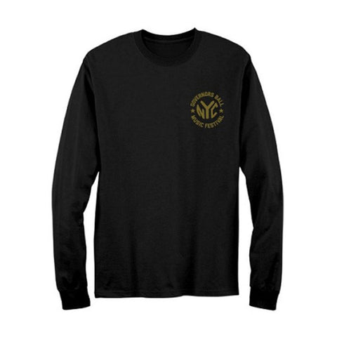 Governors Ball Men's  Token  Long Sleeve Black