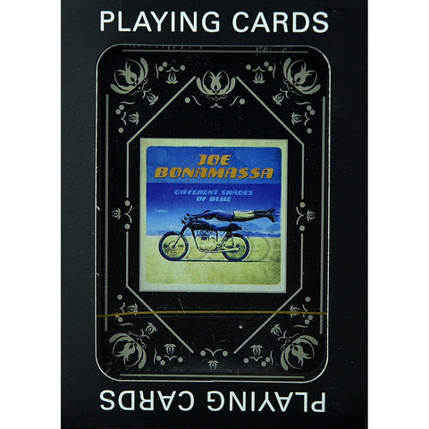 Joe Bonamassa Playing Cards