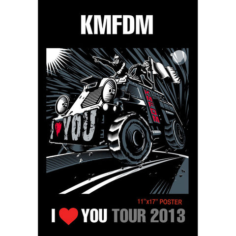 KMFDM Domestic Poster