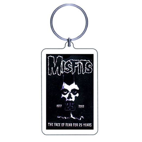 Misfits Plastic Key Chain Multi