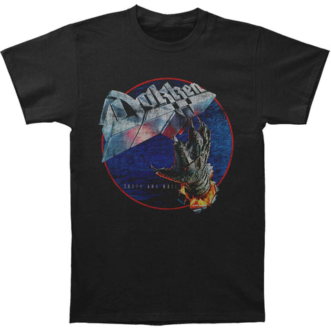 Dokken Men's  Tooth And Nail Slim Fit T-shirt Black