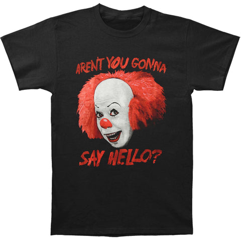 IT Men's  Say Hello T-shirt Black