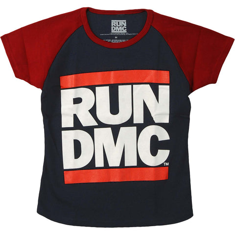 Run DMC  Logo Junior Top Red/Navy